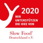 wir unterstützen Slow Food -Deutschland e.V.
