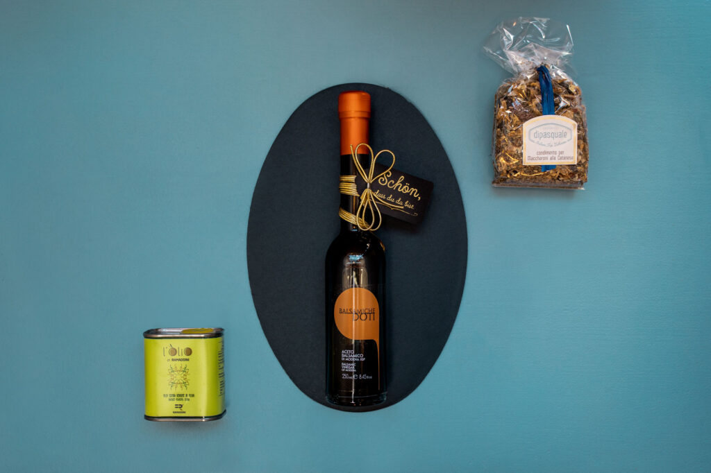 Geschenkbox Öl und Essig